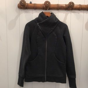 Great Lululemon Scuba? Gray Jacket-Excellent! Sz 6